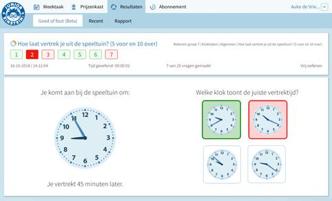 Online Rekenen Groep 2 T M 8 Junior Einstein